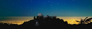 Lick Observatory - the nearest large professional research facility, San Jose CA